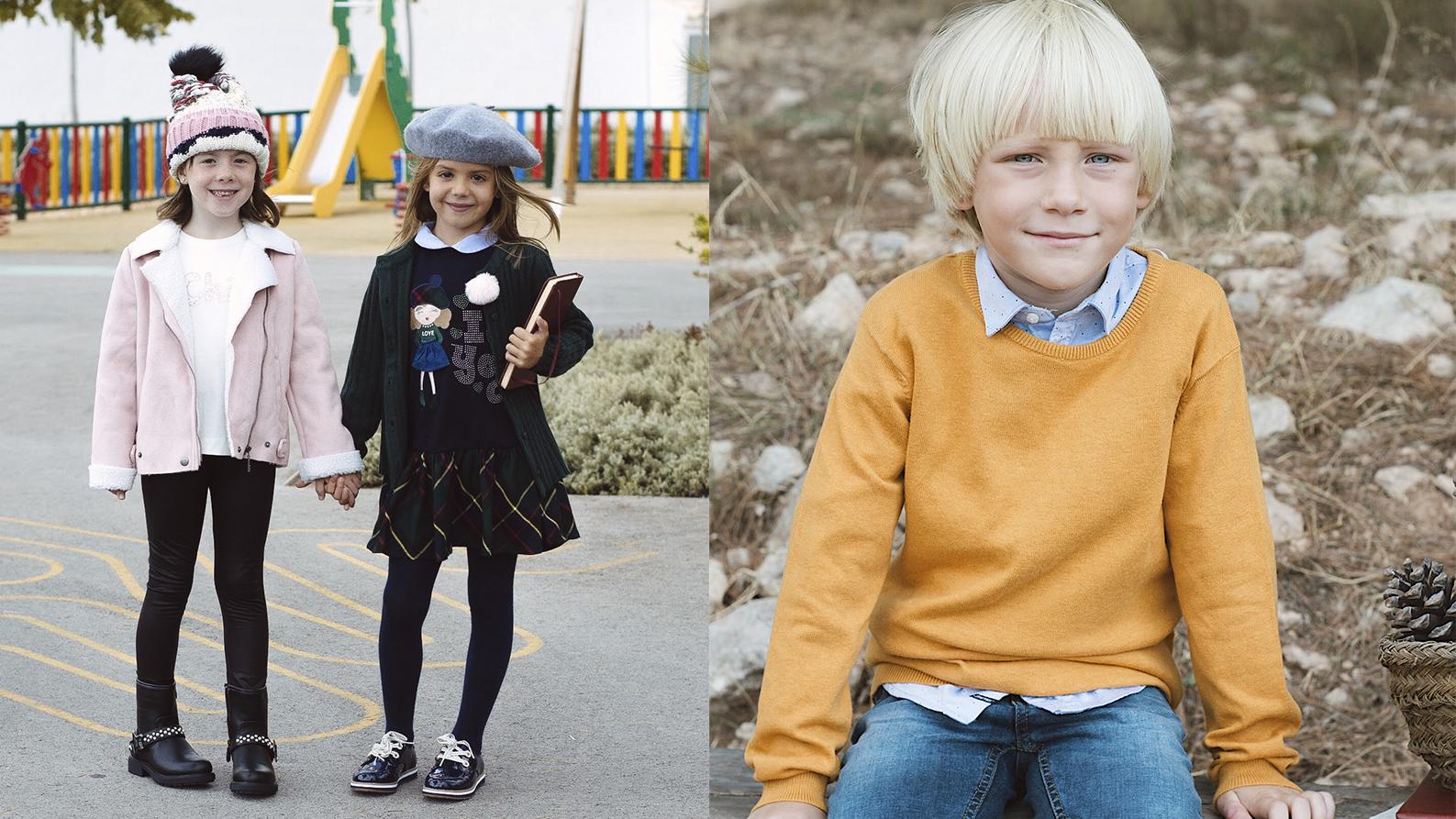 Moda infantil: Looks perfectos para la vuelta al cole   ZetaZeta